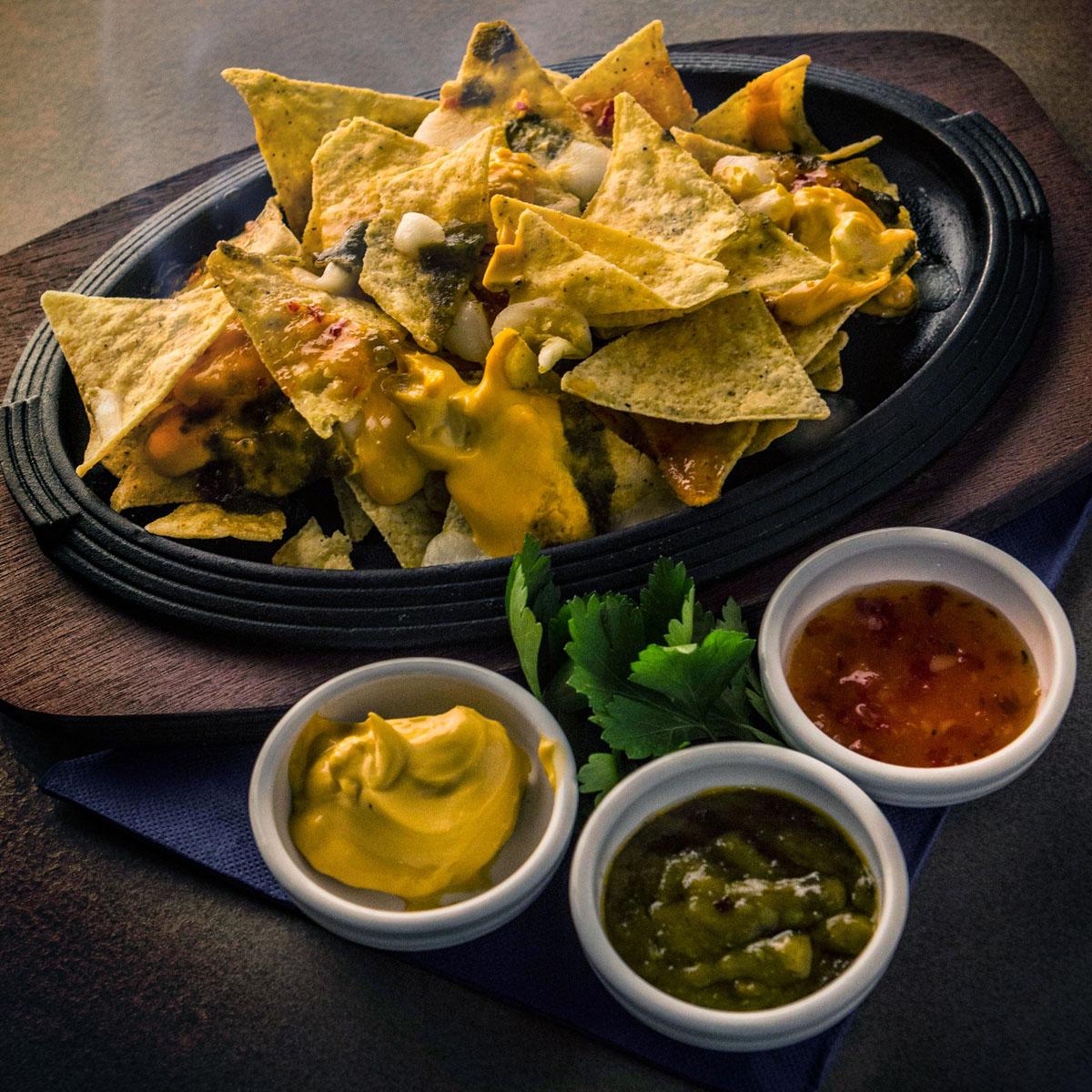 """""""Punto Gusto"""" nachos"""